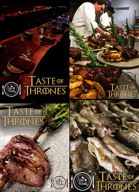 Game Of Thrones L Pop Up Dinner L Chef Luke Knox L Burritt